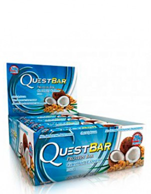 Quest Nutrition Quest Bar - Кокос и кешью